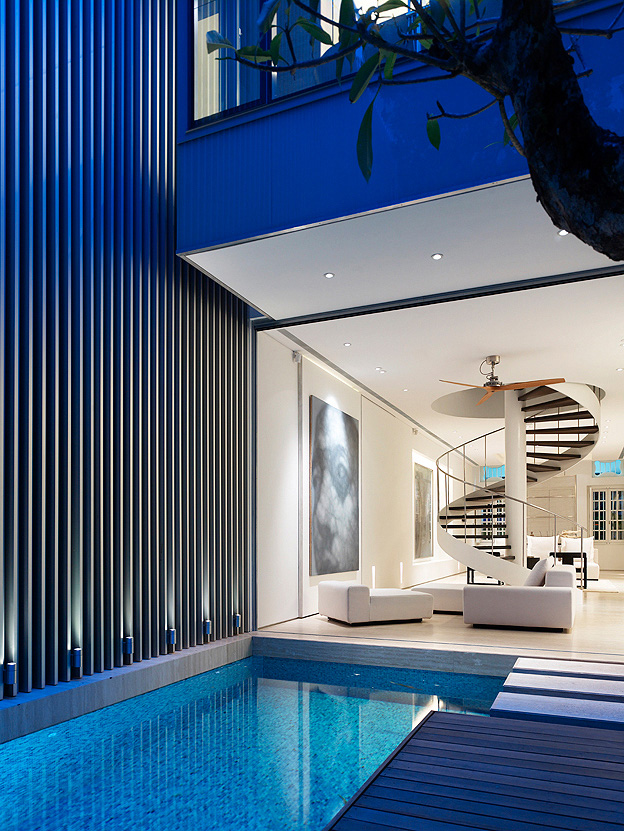 Pool in the house