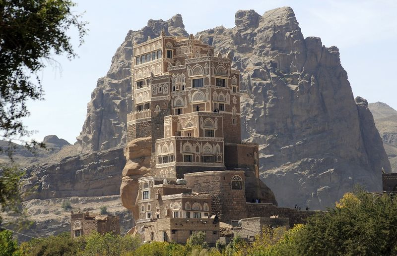 Palace of Imam Yahya in Yemen