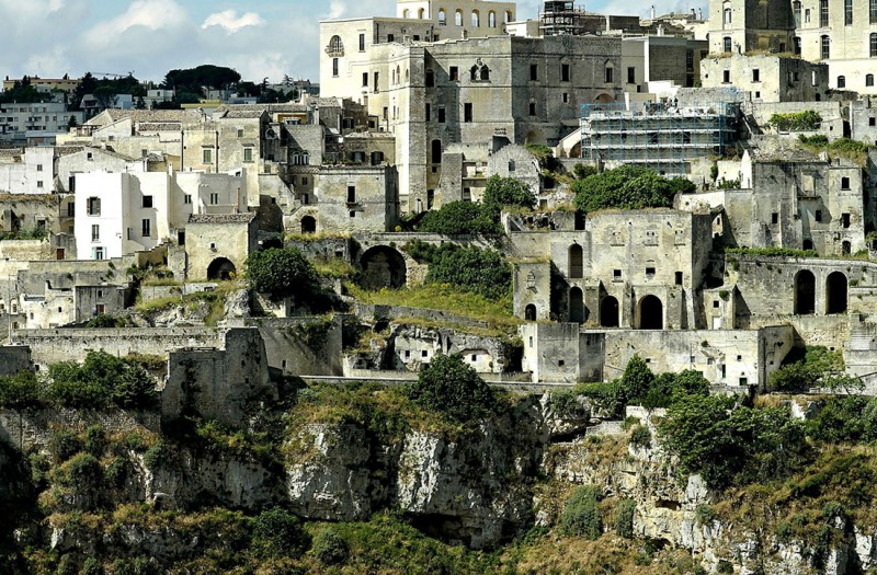 Sextantio The Civita Caves hotel in Italy