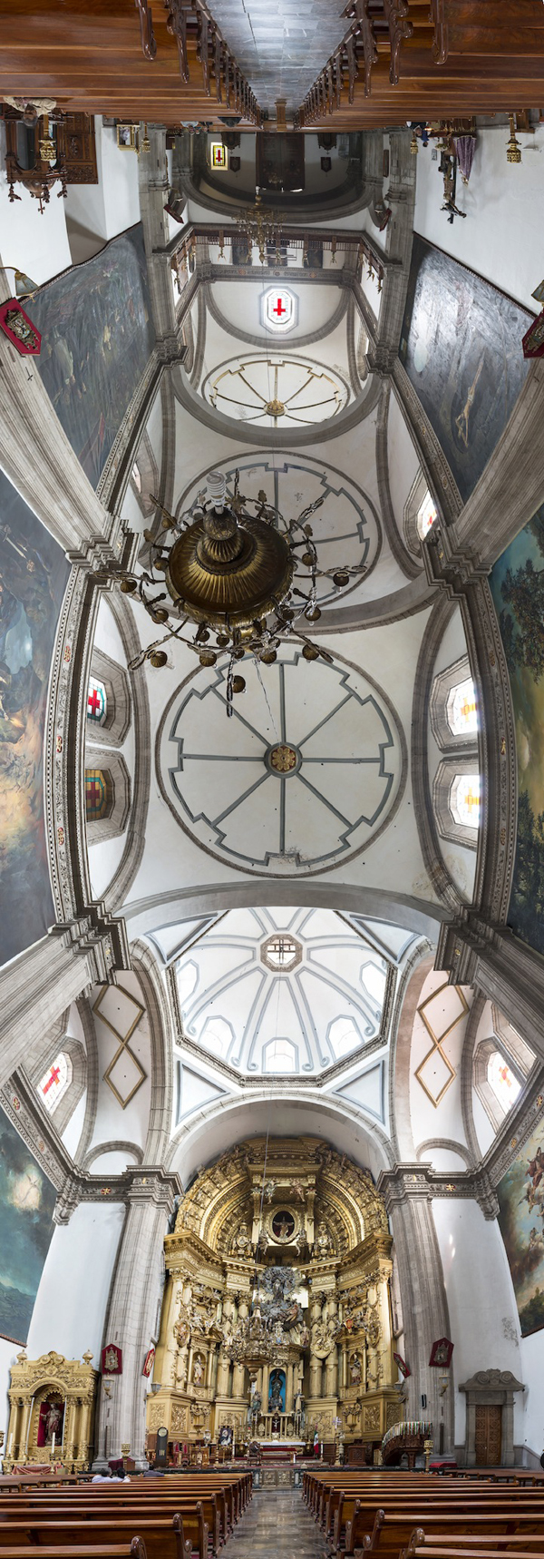 Vertical Panoramas of Churches by Richard Silver