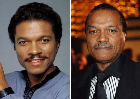 Star Wars Actors Then And Now 05 Billy Dee Williams as Lando Calrissian 1980 - 2014