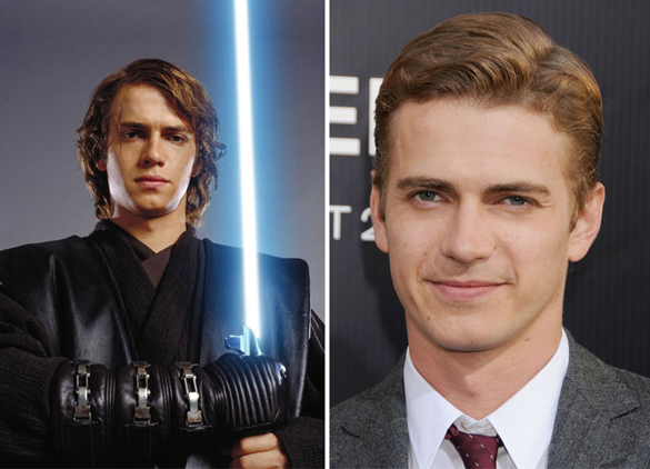 Star Wars Actors Then And Now 07 Hayden Christensen as Anakin Skywalker 2005 - 2015