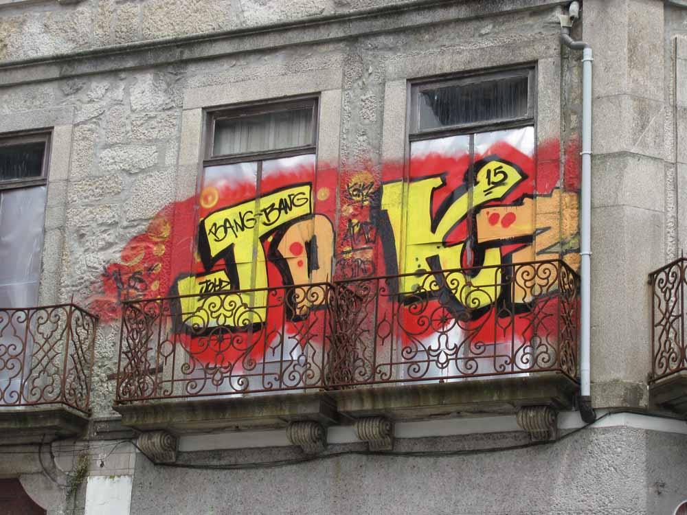 Street art from Porto4
