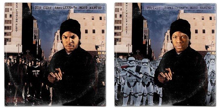 Classic album covers gets Star Wars overhaul