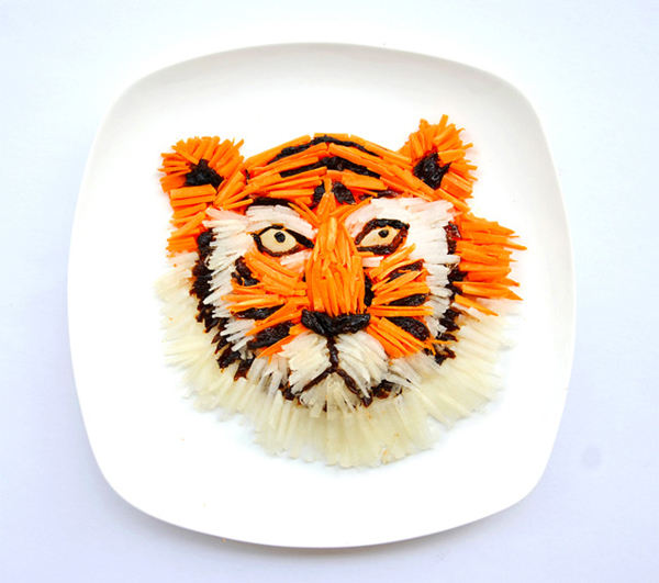 Creative dishes by Hong Yi