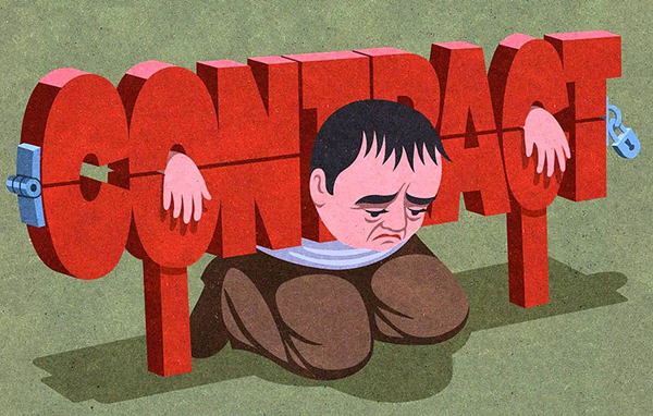 Satirical Illustrations by John Holcroft