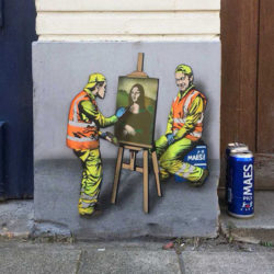 Street art by Jonathan Pauwels Yellow