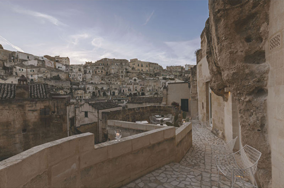 The cave-dwellings of Matera