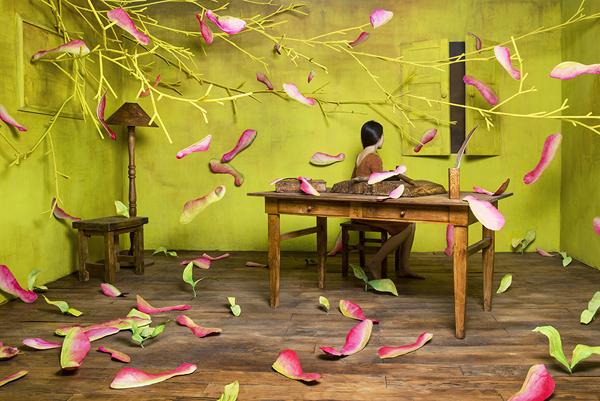 Dreamlike miniature scenes by JeeYoung Lee