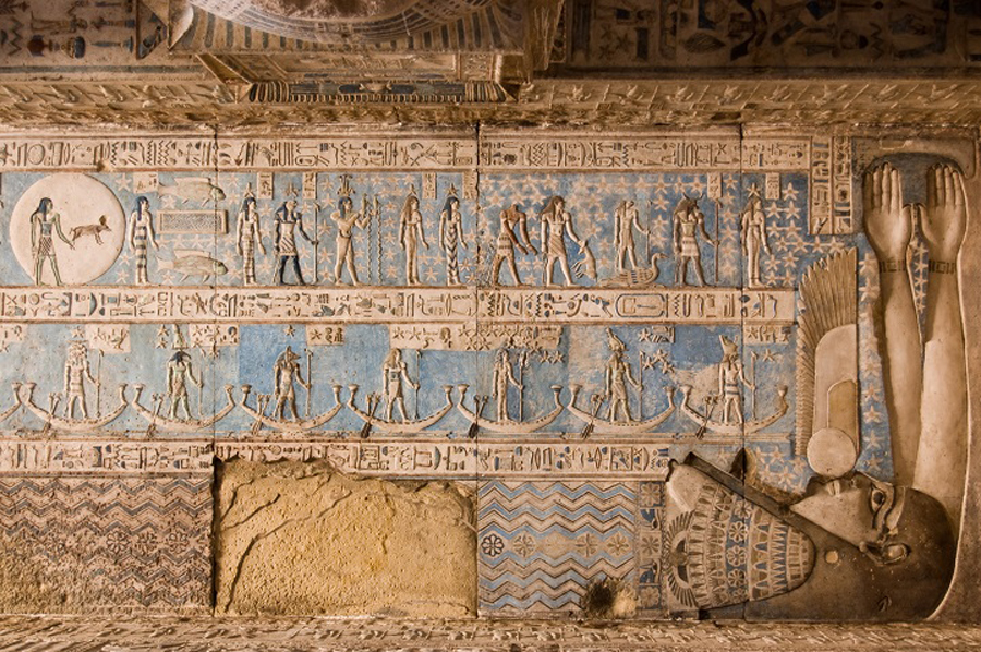 4,200-Year-Old Egyptian Temple