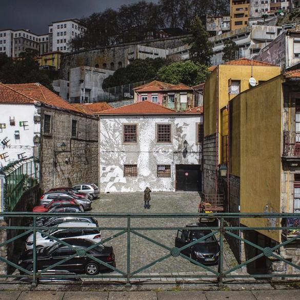 Vhils - Look at Porto