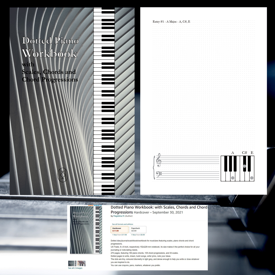 Dotted Piano Workbook